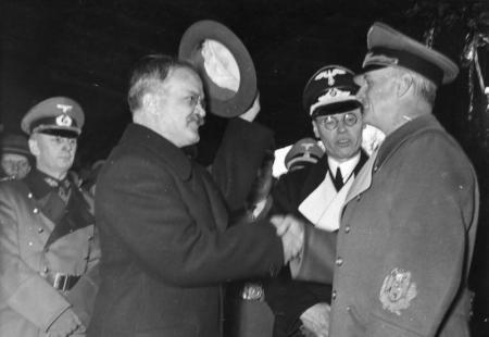 Νοέμβριος 1940, Ρίμπεντροπ και Μόλοτοφ, πηγή: Bundesarchiv, Bild 183-1984-1206-523 / CC-BY-SA