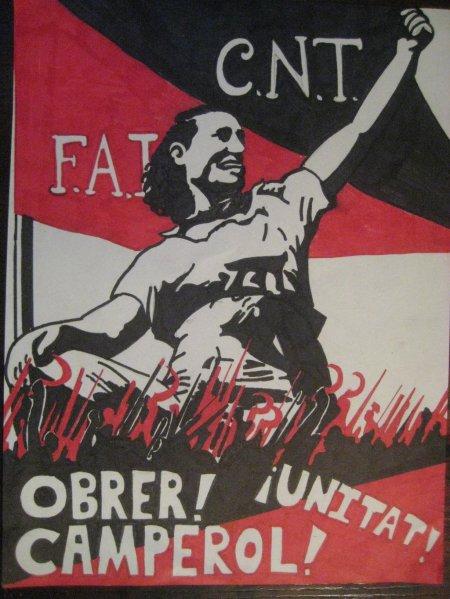 Αφίσα της CNT